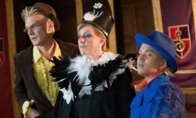 Richard de Ruyter (Boris), Pamela Teves (Dr. Brein) en Martijn van Nellestijn (Joris)