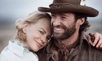 Hugh Jackman (Drover) en Nicole Kidman (Lady Sarah Ashley)