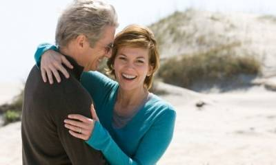 Richard Gere (Dr. Paul Flanner) en Diane Lane (Adrienne Willis)