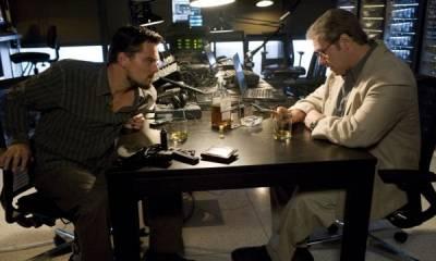 Russell Crowe (Ed Hoffman) en Leonardo DiCaprio (Roger Ferris)