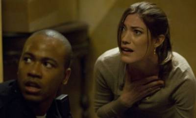 Jennifer Carpenter (Angela Vidal) en Steve Harris (Scott Percival)