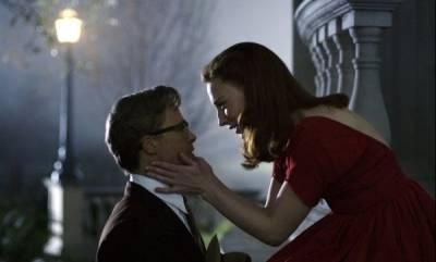 Cate Blanchett (Daisy) en Brad Pitt (Benjamin Button)