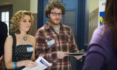 Elizabeth Banks (Miriam Linky) en Seth Rogen (Zack Brown)
