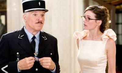 Steve Martin (Insp. Jacques Clouseau) en Emily Mortimer (Nicole)