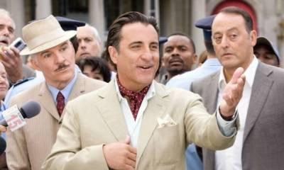 Andy Garcia (Vicenzo), Steve Martin (Insp. Jacques Clouseau) en Jean Reno (Ponton)