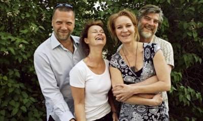 Jacob Eklund (Ulf), Lena Endre (Susanna), Maria Lundqvist (Ann) en Mikael Persbrandt (Lars)