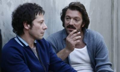 Mathieu Amalric (François Besse) en Vincent Cassel (Jacques Mesrine)