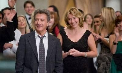 Dustin Hoffman (Harvey Shine) en Emma Thompson (Kate Walker)