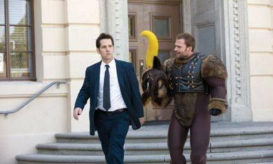 Paul Rudd (Danny Donahue) en Seann William Scott (Wheeler)