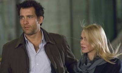 Clive Owen (Louis Salinger) en Naomi Watts (Eleanor Whitman)