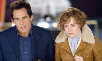 Amy Adams (Amelia Earhart) en Ben Stiller (Larry Daley)