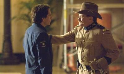 Ben Stiller (Larry Daley) en Robin Williams (Teddy Roosevelt)