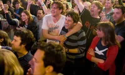 Paul Rudd (Peter Klaven) en Jason Segel (Sydney Fife)