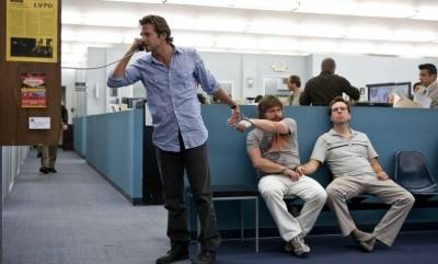 Bradley Cooper (Phil Wenneck), Zach Galifianakis (Alan Garner) en Ed Helms (Stu Price)