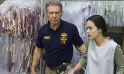 Alice Braga (Mireya Sanchez) en Harrison Ford (Max Brogan)