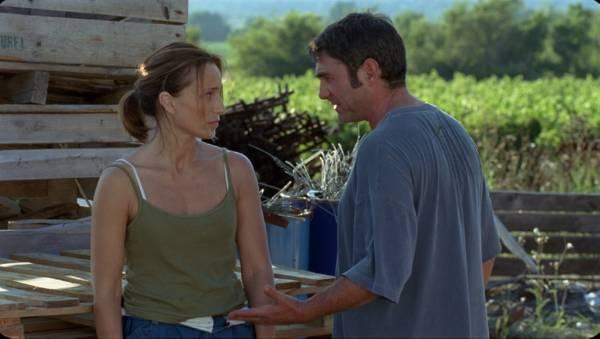 Sergi López (Ivan) en Kristin Scott Thomas (Suzanne)