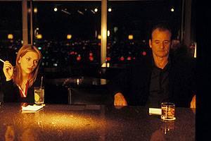 Scarlett Johansson (Charlotte) en Bill Murray (Bob Harris)