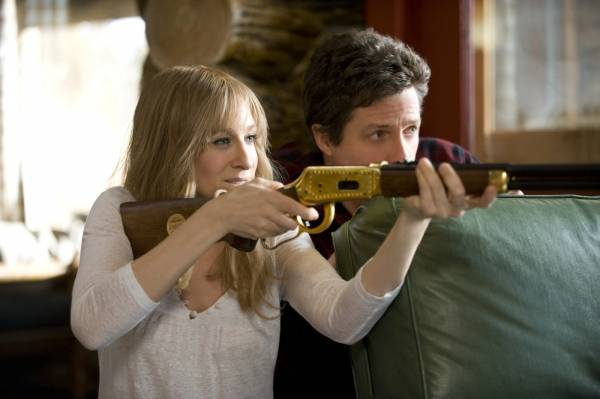 Hugh Grant (Paul) en Sarah Jessica Parker (Meryl)
