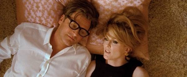 Colin Firth (George) en Julianne Moore (Charlotte)