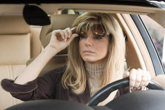 Sandra Bullock (Leigh Anne Tuohy) in The Blind Side