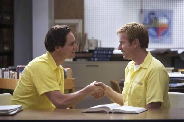 Jim Carrey (Steven Russell) en Ewan McGregor (Phillip Morris)