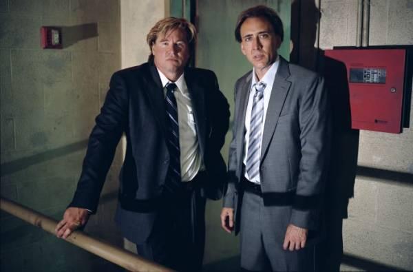 Nicolas Cage (Terence McDonagh) en Val Kilmer (Stevie Pruit)