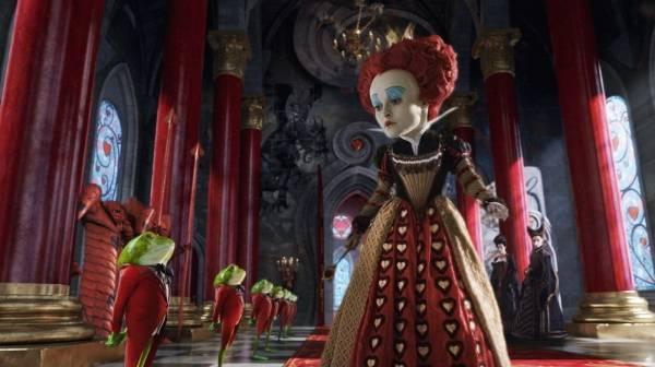 Helena Bonham Carter (The Red Queen)