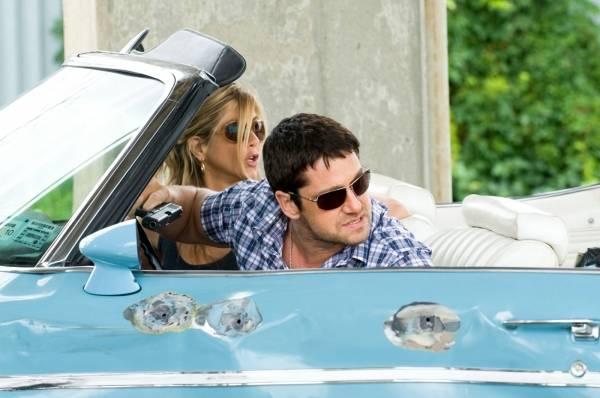 Jennifer Aniston (Nicole Hurly) en Gerard Butler (Milo Boyd)