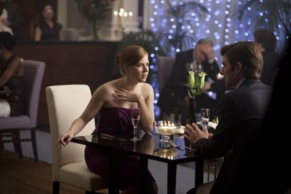 Amy Adams (Anna) en Adam Scott (Jeremy)