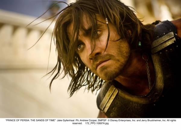 Jake Gyllenhaal (Prince Dastan) in Prince of Persia: The Sands of Time