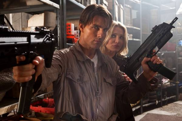 Tom Cruise (Roy Miller) en Cameron Diaz (June Havens)
