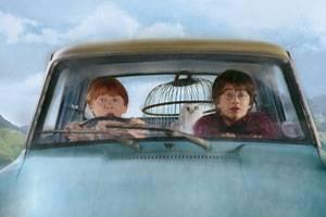 Rupert Grint (Ron Weasley) en Daniel Radcliffe (Harry Potter)