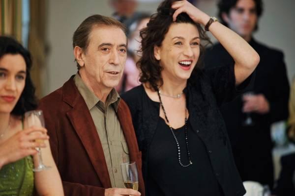 Noémie Lvovsky (Suzanne) en Luis Rego (Patrice)