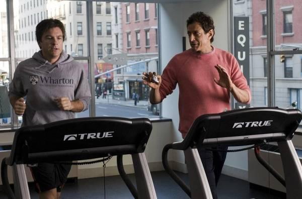 Jason Bateman (Wally) en Jeff Goldblum