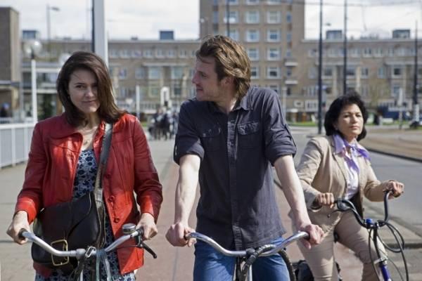 Stefan Rokebrand (Thomas) en Susan Visser (Claire)
