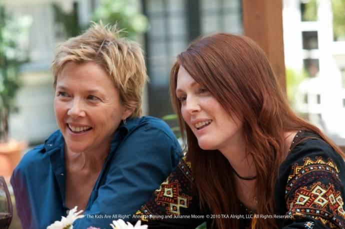 Annette Bening (Nic) en Julianne Moore (Jules)