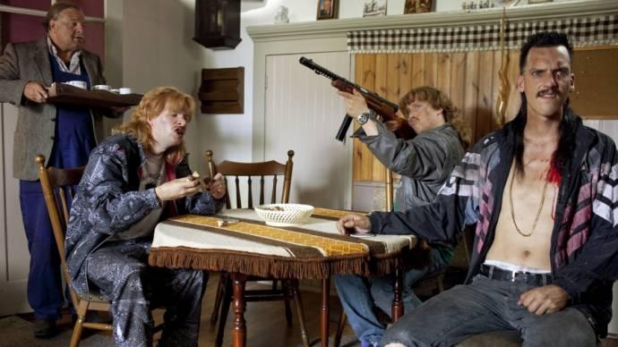 Steffen Haars (Robbie Schuurmans), Tim Haars (Gerrie van Boven) en Flip Van der Kuil (Barrie Butsers)