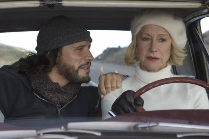Helen Mirren (Grace Bontempo) en Sergio Peris-Mencheta (Armando Bruza)