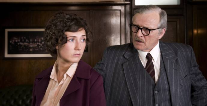 Carice van Houten (Ingrid Jonker) en Rutger Hauer (Abraham Jonker)