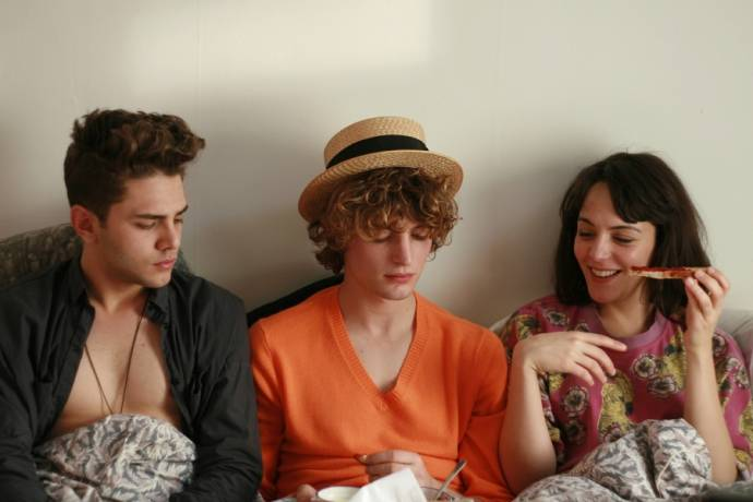Monia Chokri (Marie), Xavier Dolan (Francis) en Niels Schneider (Nicolas)