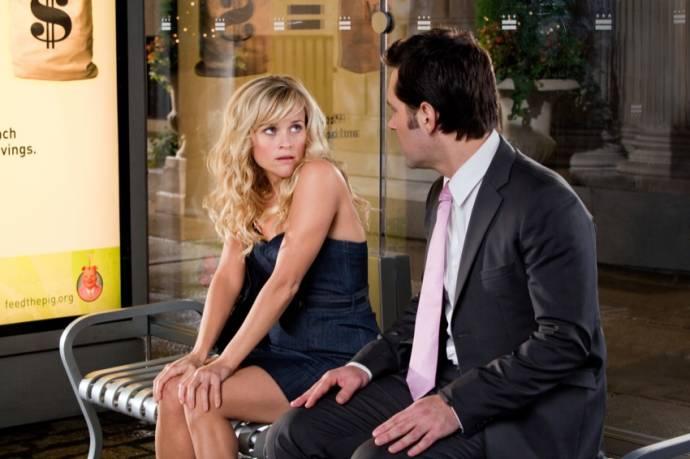 Paul Rudd (George) en Reese Witherspoon (Lisa Jorgenson)