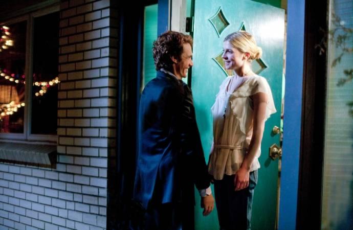 James Franco (Aron Ralston) en Clémence Poésy (Rana)
