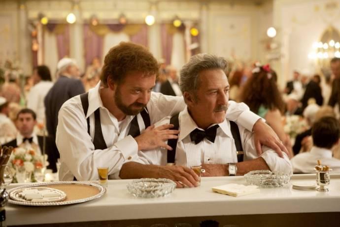 Paul Giamatti (Barney Panofsky) en Dustin Hoffman (Izzy)