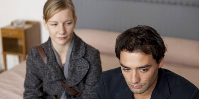 Sandra Hüller (Charlotte) en Dragan Bakema (Max)