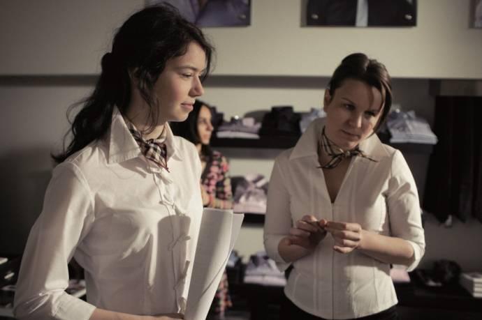 Valeria Seciu en Clara Voda (Gina Filip)