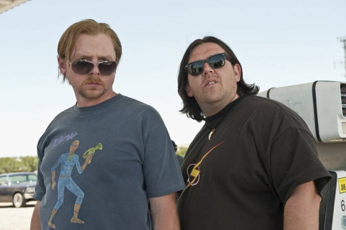 Nick Frost (Clive Gollings) en Simon Pegg (Graeme Willy)