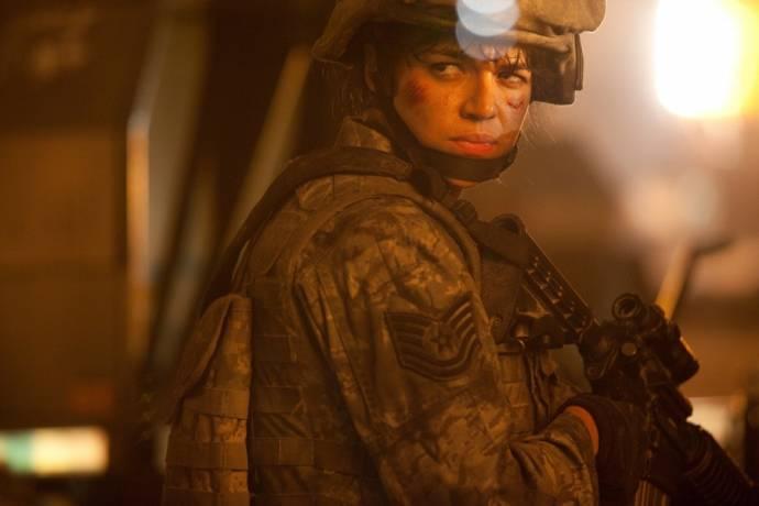 Michelle Rodriguez (TSgt. Elena Santos)