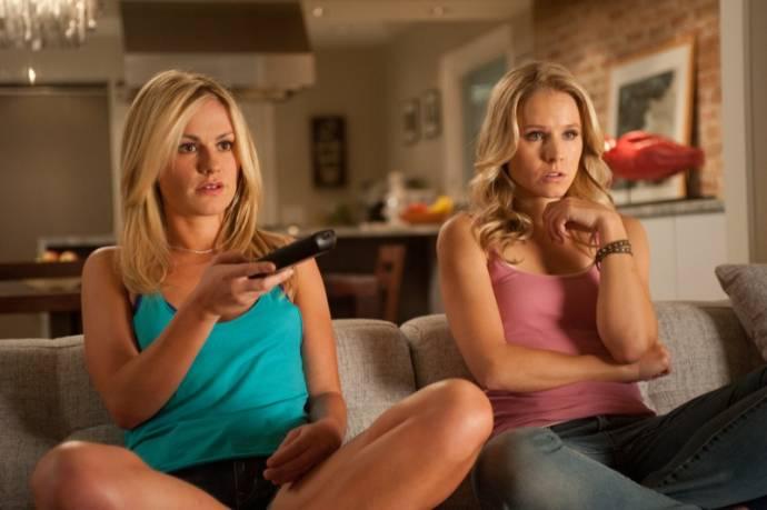 Anna Paquin (Rachel) en Kristen Bell (Chloe)