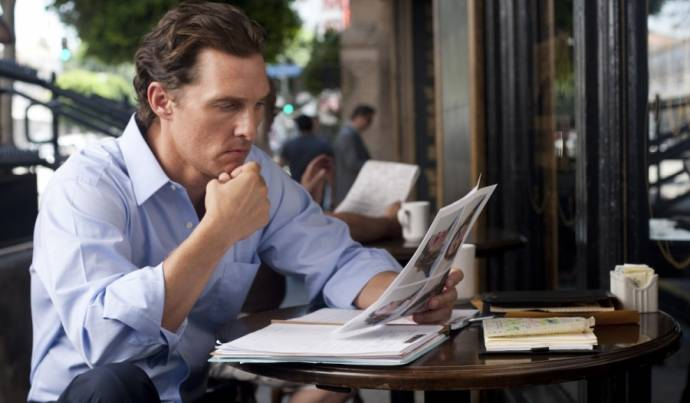 Matthew McConaughey (Mick Haller) in The Lincoln Lawyer