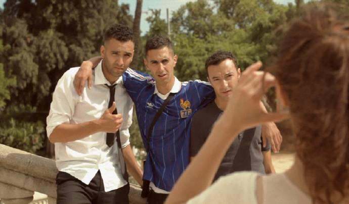 Marwan Kenzari (Zakaria (as Marwan Kenzari)), Achmed Akkabi (Abdel) en Nasrdin Dchar (Nadir)